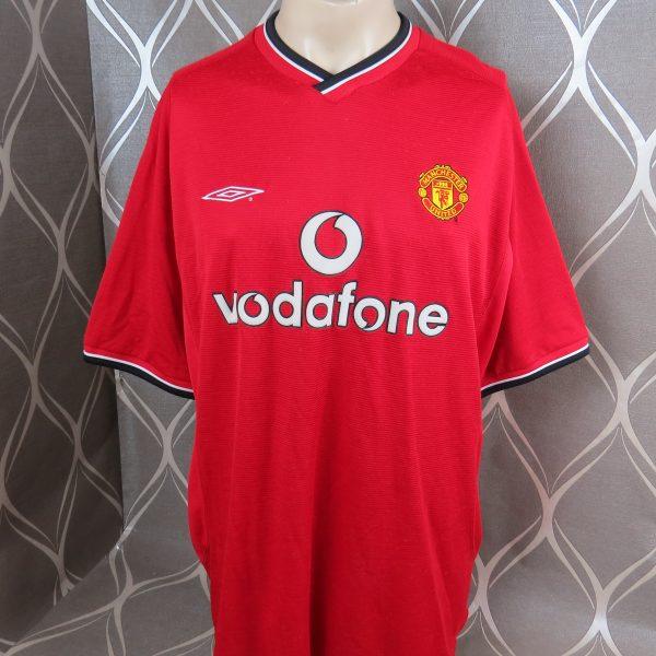 Vintage Manchester United 2000-02 home shirt Umbro jersey size XXL ... 9effbf47a