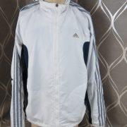 Adidas 2005 white navy tracksuit shell jacket size L (1)