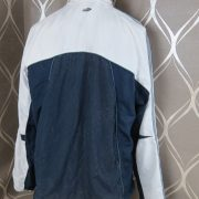 Adidas 2005 white navy tracksuit shell jacket size L (2)