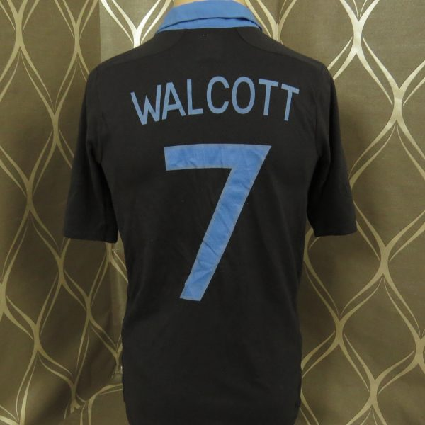 England 2011-12 away shirt Umbro soccer jersey Walcott 7 size S EURO 2012 (4)