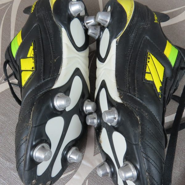 KOOGA black lime boots cleats UK5.5 US6.5 EU39 (3)