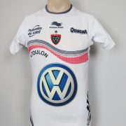 Toulon RC Rugby 2013-14 Players Authentic away Rugby Shirt Maillot Size S (1)