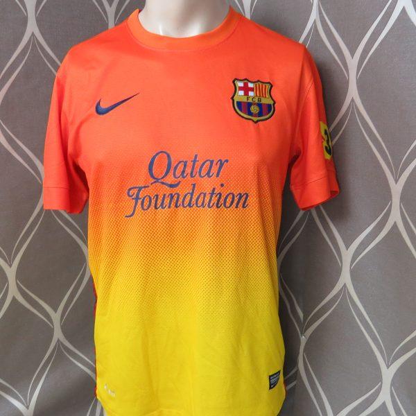 Barcelona 2012-13 away shirt Nike soccer jersey size S (1)