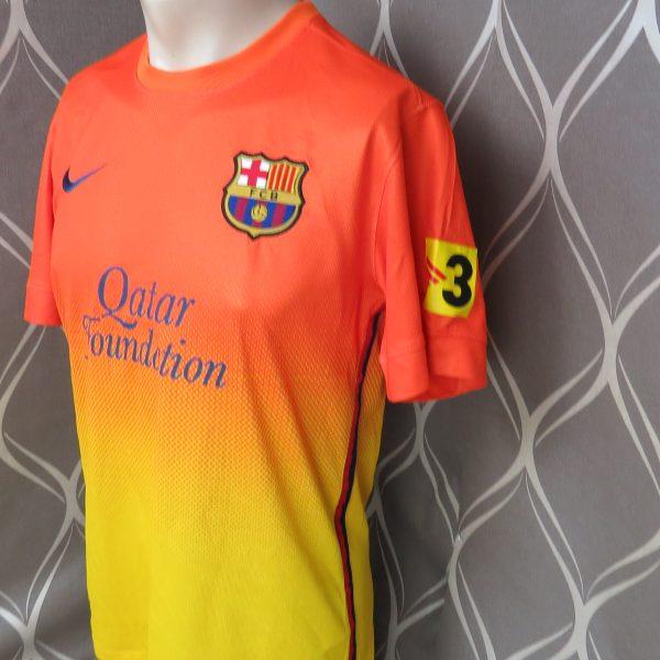 Barcelona 2012-13 away shirt Nike soccer jersey size S (2)