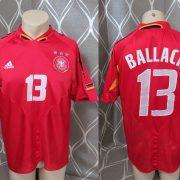 Rare Germany 2004-05 third shirt adidas #13 Ballack soccer jersey size L (1)