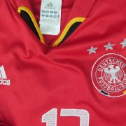 Rare Germany 2004-05 third shirt adidas #13 Ballack soccer jersey size L (2)