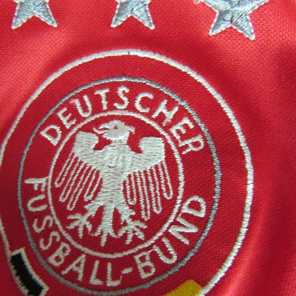 Rare Germany 2004-05 third shirt adidas #13 Ballack soccer jersey size L (5)