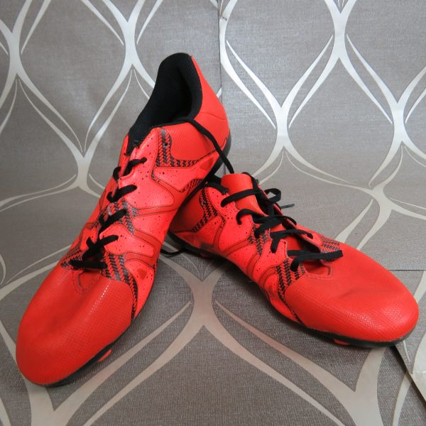 Adidas Football SG Boots X 15.4 Junior bold orange soccer EU 38 23 UK 5.5 (1)