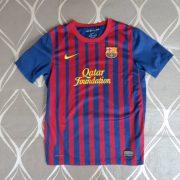 Barcelona 2011-12 LFP home shirt Nike soccer jersey size Boys L 152-158 (1)