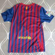 Barcelona 2011-12 LFP home shirt Nike soccer jersey size Boys L 152-158 (3)