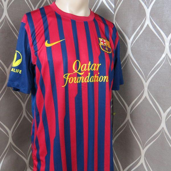 2c66bcdbbc Barcelona 2011-12 home shirt camiseta soccer jersey Nike Herbalife size M  NEW (1