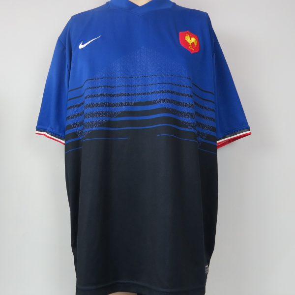 France Rugby 2011-12 home shirt Nike Jersey Maillot Size XXL (2)