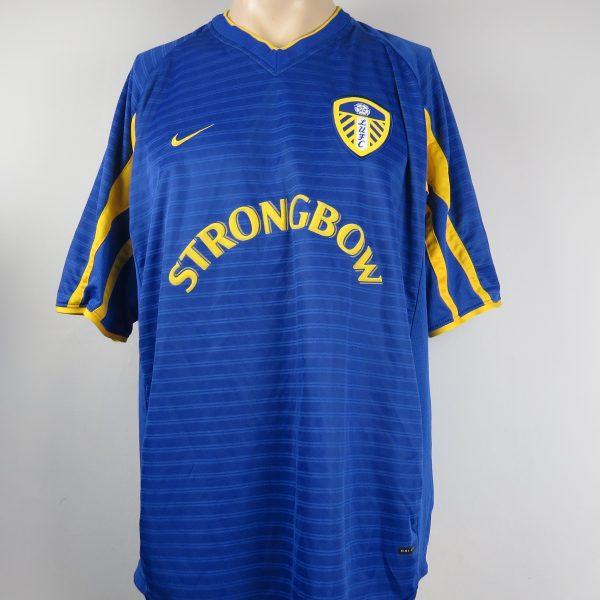 438a7e388 Leeds United 2001-03 away shirt Nike soccer jersey size XL ...