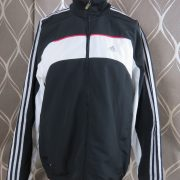 Adidas 2004 black white tracksuit shell jacket size L 42-44 (1)