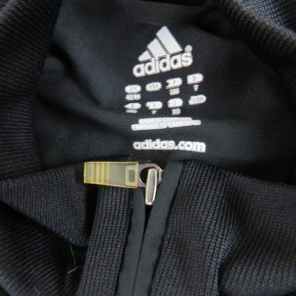Adidas 2004 black white tracksuit shell jacket size L 42-44 (3)