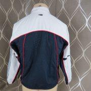 Adidas 2005 white navy tracksuit shell jacket size Boys M 152 10-12Y (2)