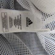 Adidas 2005 white navy tracksuit shell jacket size Boys M 152 10-12Y (4)
