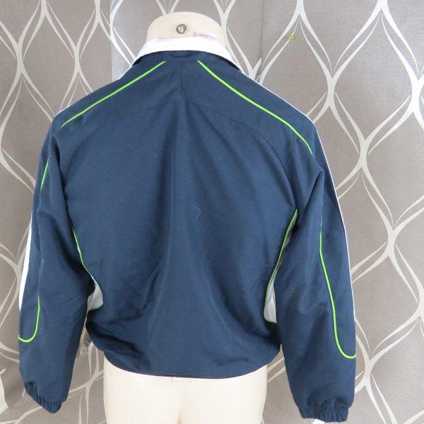 Adidas 2008 navy tracksuit shell jacket size Boys M 152 10-12Y (4)