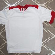 Adidas 2009 Climalite white sports football shirt size XXS 140cm 9-10Y (3)