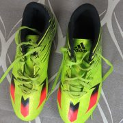 Adidas Ace Messi 15.4 FXG Boys lime green Football BOOTS FG UK5 EU 38 (4)