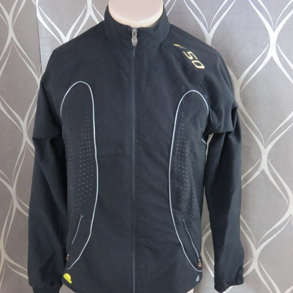 Adidas F50 2007 black tracksuit shell jacket size S (1)