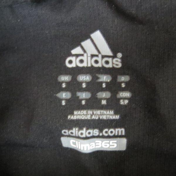 Adidas F50 2007 black tracksuit shell jacket size S (3)
