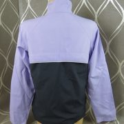 Adidas ladies 2003 purple tracksuit shell jacket size UK12 EU38 (2)