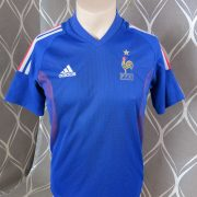 France World Cup 2002 home shirt adidas soccer jersey size XS (1)