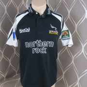 Newcastle Falcons 200304 Kooga Rugby Jersey Home Shirt Size S (1)