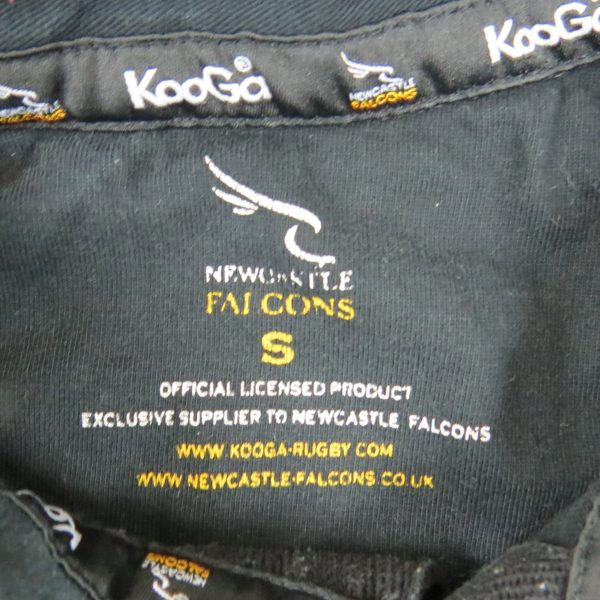 Newcastle Falcons 200304 Kooga Rugby Jersey Home Shirt Size S (2)