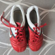 Nike CTR360 Red White 2010 Football Boots size UK C 12 (EU 30 US 12.5) (2)
