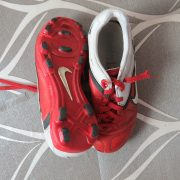 Nike CTR360 Red White 2010 Football Boots size UK C 12 (EU 30 US 12.5) (4)