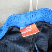 Puma PWR-C 1.12 blue football sports shorts size Boys M 140cm 10Y (2)