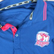 Sydney Roosters NRL polo shirt Rugby jersey size L (2)