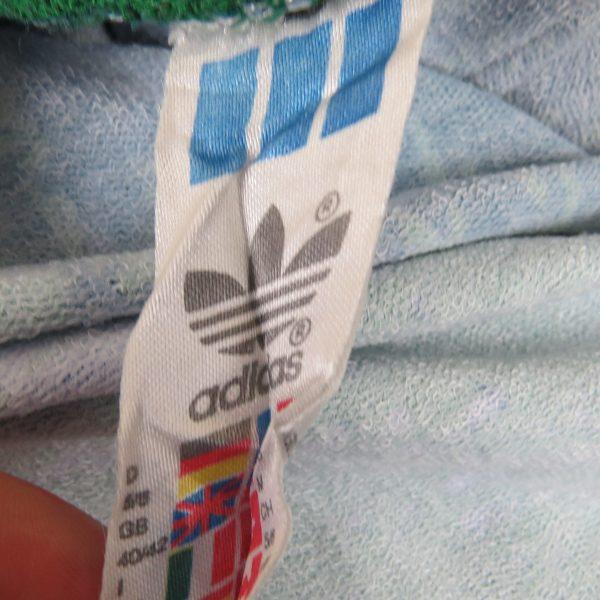 Adidas ls shirt modern art style padded GK #1 soccer jersey size L 40-42 (3)