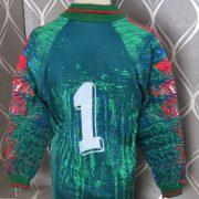 Adidas ls shirt modern art style padded GK #1 soccer jersey size L 40-42 (4)