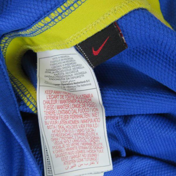 Brazil 2008-10 away shirt Nike Brasil soccer jersey size S (3)