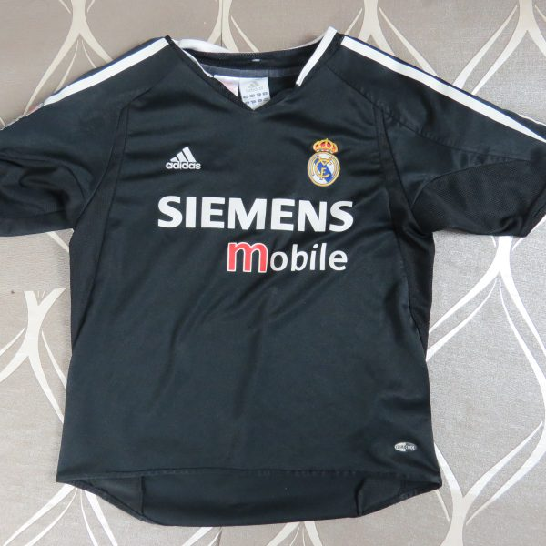 Real Madrid 2004-05 away shirt adidas soccer jersey size Boys M 3032 12Y (2)