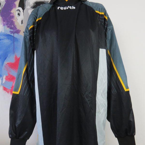 Reusch ls shirt black padded Goal Keeper #1 soccer jersey size XXL (1)