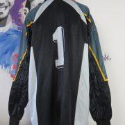 Reusch ls shirt black padded Goal Keeper #1 soccer jersey size XXL (2)