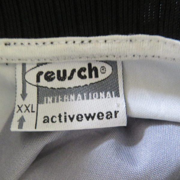 Reusch ls shirt black padded Goal Keeper #1 soccer jersey size XXL (3)