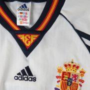 Spain 1998 away shirt soccer jersey adidas Hierro 6 size M World Cup 1998 (2)