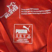 Austria 2014-16 home shirt Puma soccer jersey size Boys M 140cm 10Y (2)