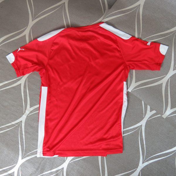 Austria 2014-16 home shirt Puma soccer jersey size Boys M 140cm 10Y (3)