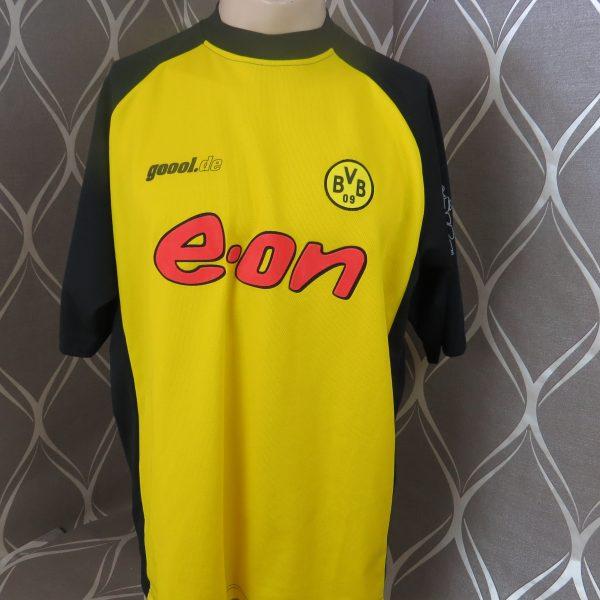 premium selection 7de32 c2635 Vintage Borussia Dortmund 2001 2002 home shirt goool.de jersey size XL