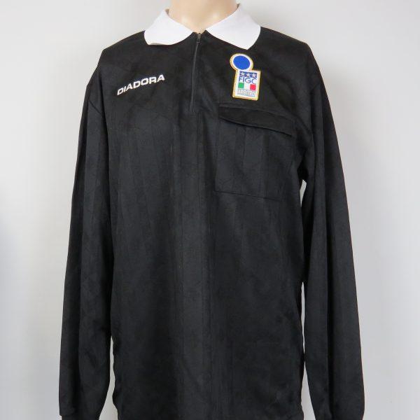 Italy Associazione Arbitri referee shirt football Diadora size XL (1)