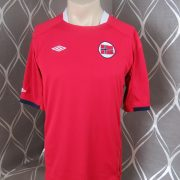 Norway 2011-12 home shirt Umbro soccer jersey size M (1)