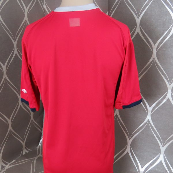 Norway 2011-12 home shirt Umbro soccer jersey size M (2)