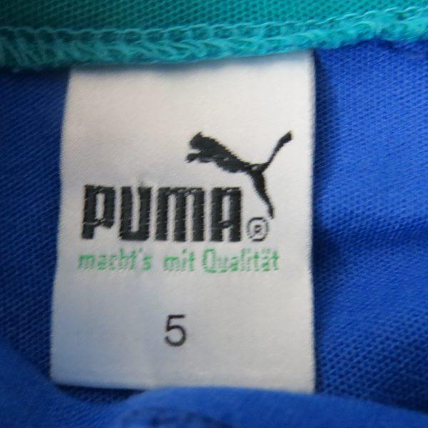 PUMA 1980ies tracksuit blue jacket size M (Puma size 5) (2)