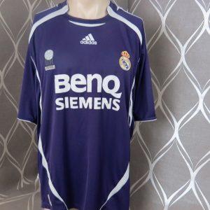 755c9225365 Real Madrid 2006-07 LFP third shirt adidas soccer jersey size XXL